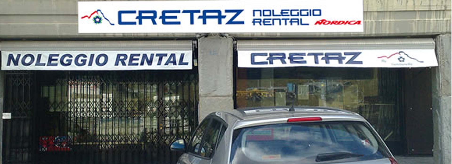 Cretaz Sport rental exterior