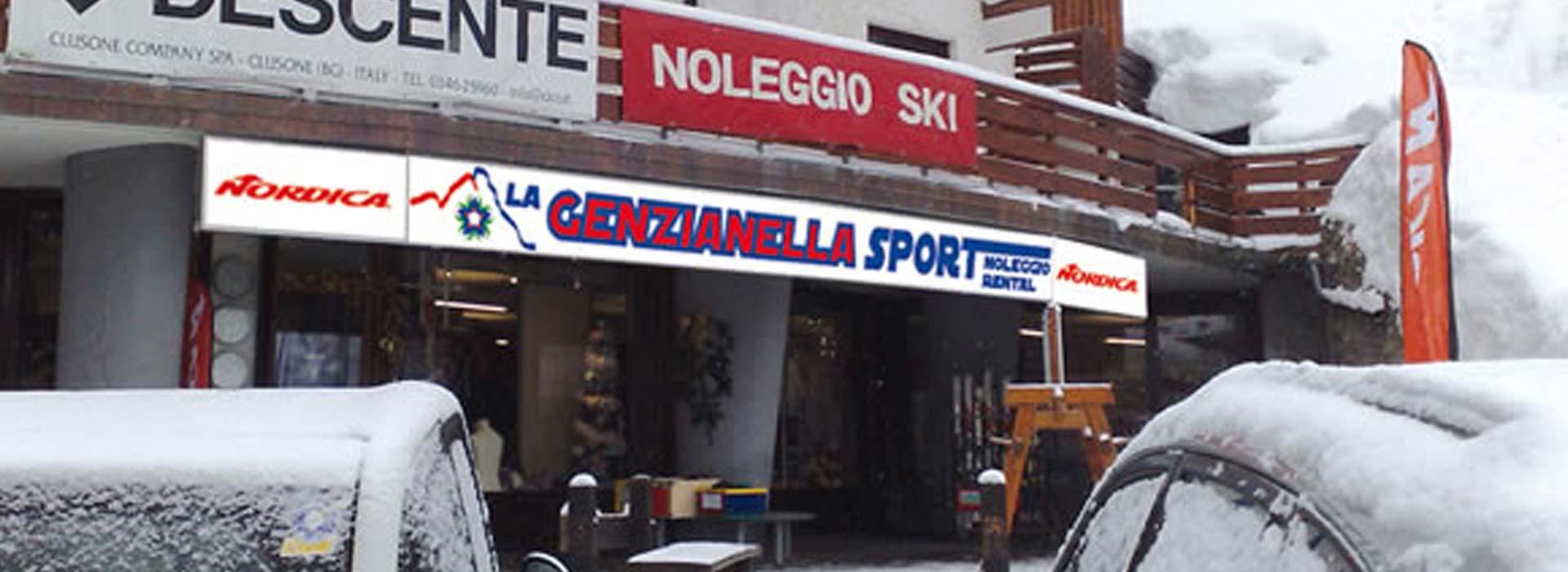 Esterno noleggio Genzianella sport