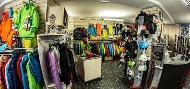 Interno negozio Genzianella sport