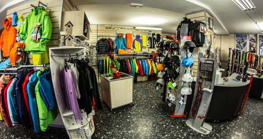 Interni negozio Genzianella sport