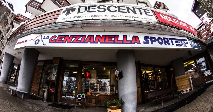 Genzianella Sport exterior