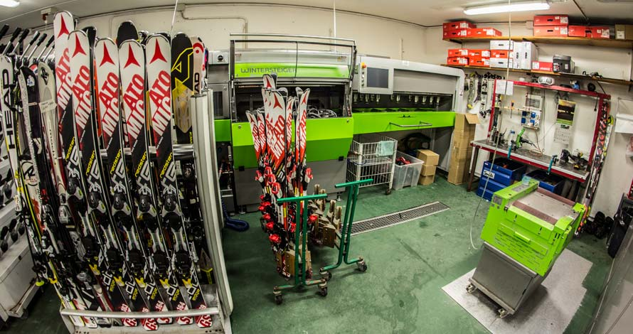 Genzianella Sport ski workshop