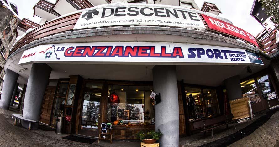 Genzianella Sport ski rental exterior